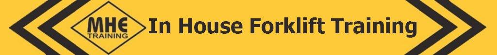In House Forklift Training logo